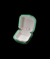 CPLA catering posudica od šećerne trske, 152x152x80mm